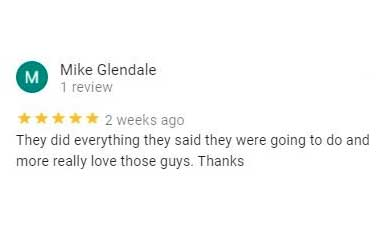 Mike Glendale's review